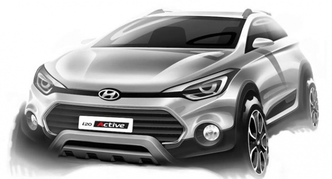 Indias Second Largest Auto Maker Hyundai India Is Set To Bring Out Its New Car I20 Active On March 17 In Delhi