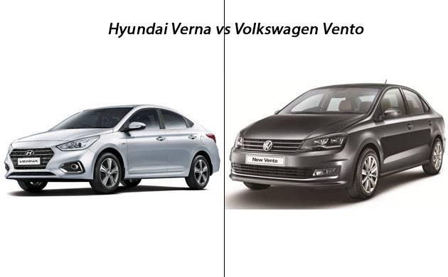 Hyundai Verna Versus Volkswagen Vento